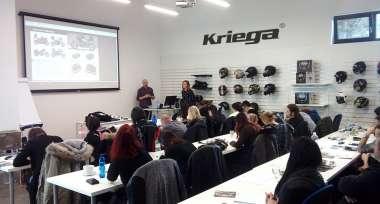 Produktové školení zavazadel Kriega