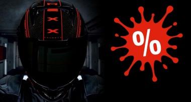 Slevy na vybrané helmy NEXX