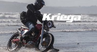 Novinka: Zavazadla na motocykl Kriega skladem