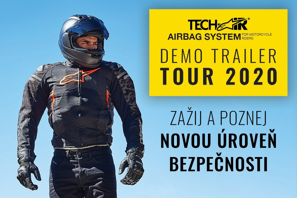 Tech-Air demo trailer TOUR 2020 v plném proudu