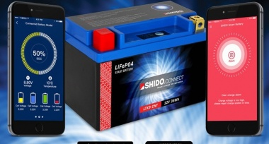 Zlevnili jsme Lithium-iontové baterie SHIDO