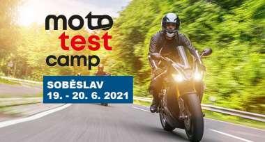 MOTOTEST Camp zaregistruj se a testuj nebo se jen přijď podívat