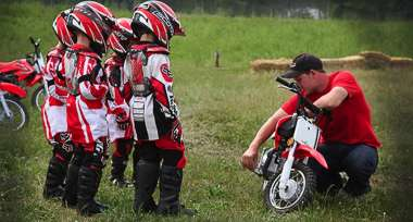 Dětská výbava na motorku