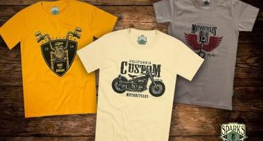 Nové designy triček SPARKS naskladněny