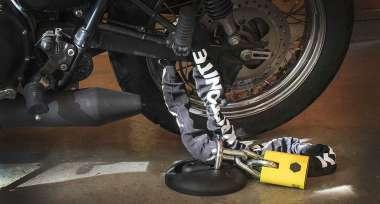 Nezapomínej zabezpečit svoji motorku!
