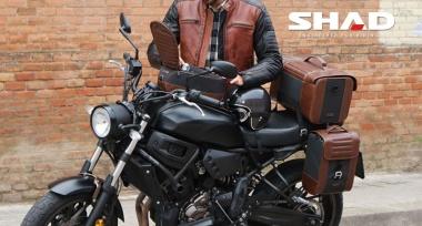 Novinka: Kožená zavazadla SHAD Cafe racer
