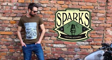 Novinka v nabídce - originální trika SPARKS naskladněna