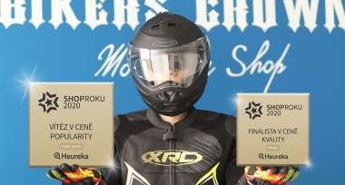 Bikers Crown - vítěz Heureka SHOP ROKU 2020