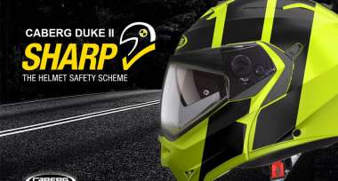 Pětihvězdičkový Caberg DUKE v nových designech