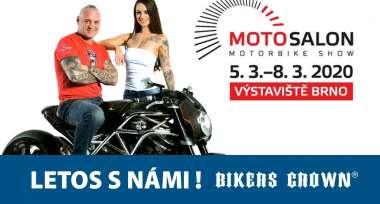 Bikers Crown vás zve na výstavu Motosalon 2020